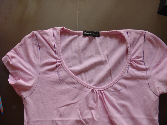 T-shirt shopping bag